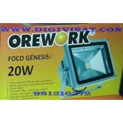 foco led 20W OREWORK