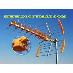 Antena uhf  15,5 DB  ref1425
