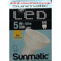 Bombilla_led-GU10_5W_6,50e_330Lm_calido_sunmatic