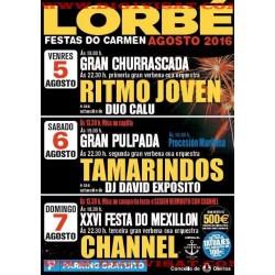 2016 festas en LORBE 5-6-7 AGOSTO
