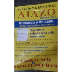 2017 XII Festa Da Merenda Aiazo- Frades