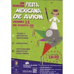 XIII fiesta mexicana en Avion 2017