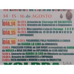 fiesta de la codorniz en Castelo do Miño, Ourense. 2018