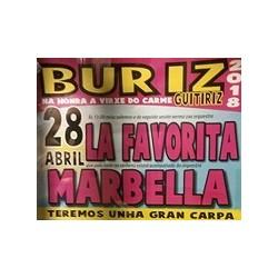 Fiestas en Buriz-virxen do carmen- Guitiriz 2018