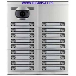 Video intercom base budget Tegui 8 Housing