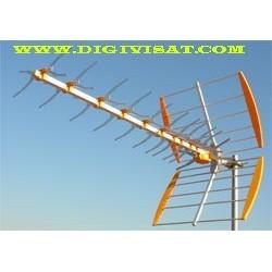 Antena televès uhf  1044 16db 43 elementos
