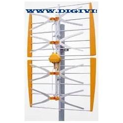 Antena  plana 14db ref 1083