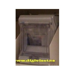 Caja Superficie 8 elementos estanco Hager