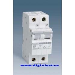 Interruptor automatico magnetotermico 1 + N , 6 KA 6A.Simon.