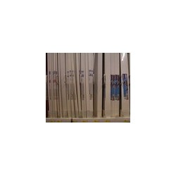 Canaleta sin tabique 78 PVC-M1 2mts x 10cm x 22