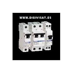 "Interruptor Magnetotermico ""c"" 25A 1p+N, Simon  68525-56"