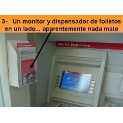 Alerta de seguridad  ¡Como te roban tus datos  en tú cajero!