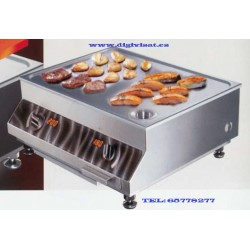 Induction Iron Griddle-line SH/DU/GR 10000W, digivisat installed