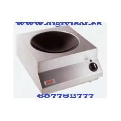 Cocina de induccion wok SH WO IN 8000 W. digivisat instala