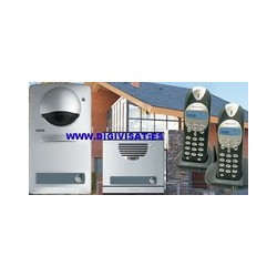 Radio door entry kit surface Serie7 tegui