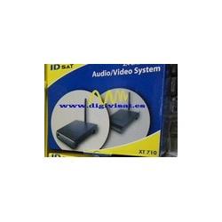 Transmisor de video de 2,4 GHz ID SAT XT 710