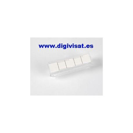 Caratula identificativa 5 pares televes 2198