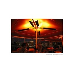 Heatray Kit C36, Parasol with heating and lighting