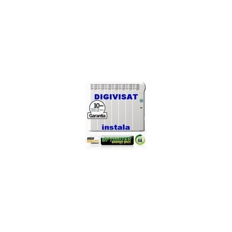 Radiador eléctrico Rointe de bajo consumo 1400w